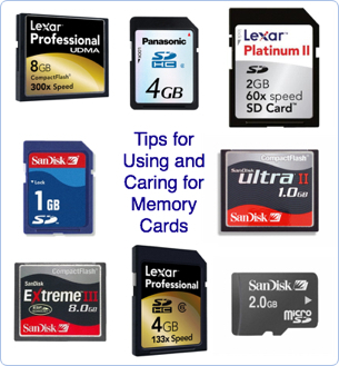 How should I care for my digital camera's memory card to make it ...: digital-photography-school.com/13-tips-for-using-and-caring-for...