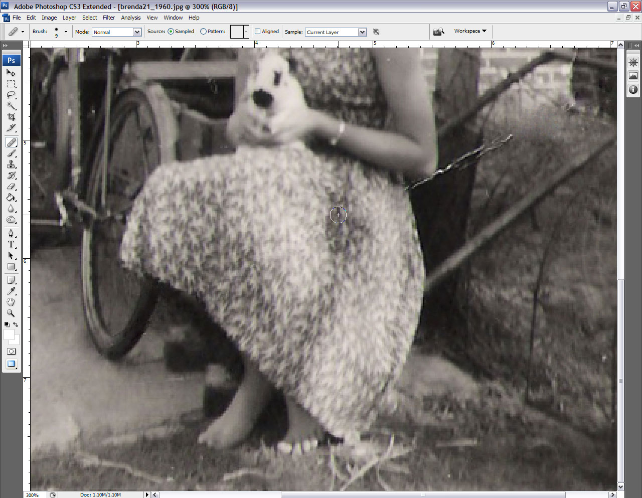 Using the healing tools in photoshop cs3 baditri Gallery