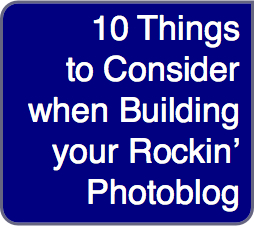 Building Your Blog: 10 things to consider when building your rockin