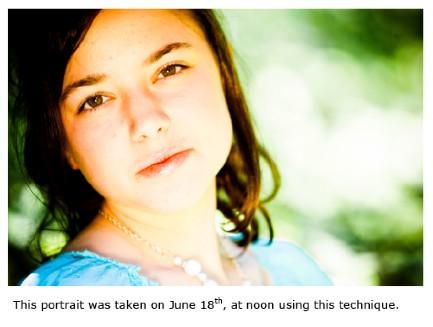 Summer Portraiture: Practical Technique