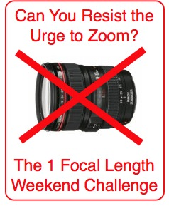 The 1 Focal Length Weekend Challenge