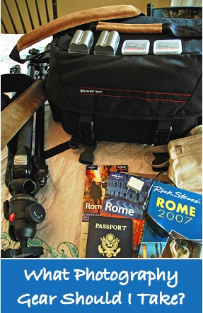 Travel Photography Equipment - What To Pack?