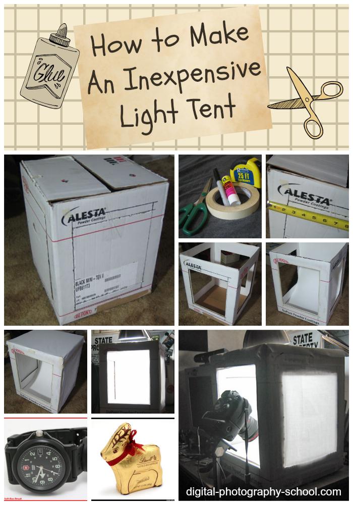How to Make An Inexpensive Light Tent – DIY