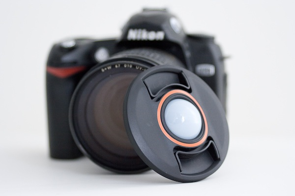 White Balance Lens Cap - Perfect White Balance in Every Lighting Situation
