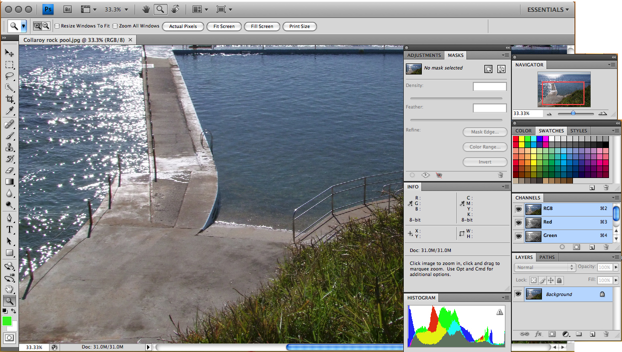 Photoshop CS4 Extended Screen Shot