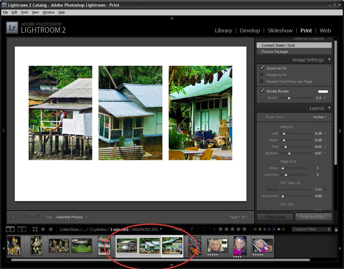how to change size of photos lightroom