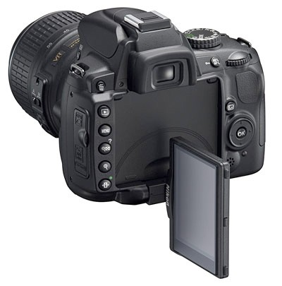 Nikon D5000 Swivel Screen dSLR