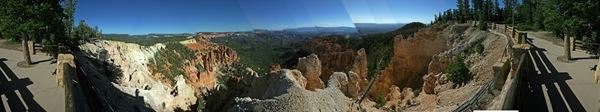 Panoramic Photo Bryce Canyon