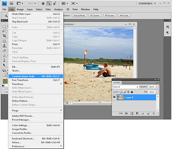 how to turn brightness up on a layer photoshop