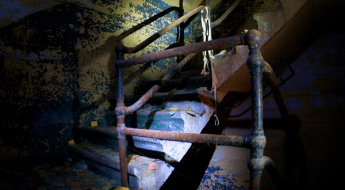 Stairwell by Chris Folsom