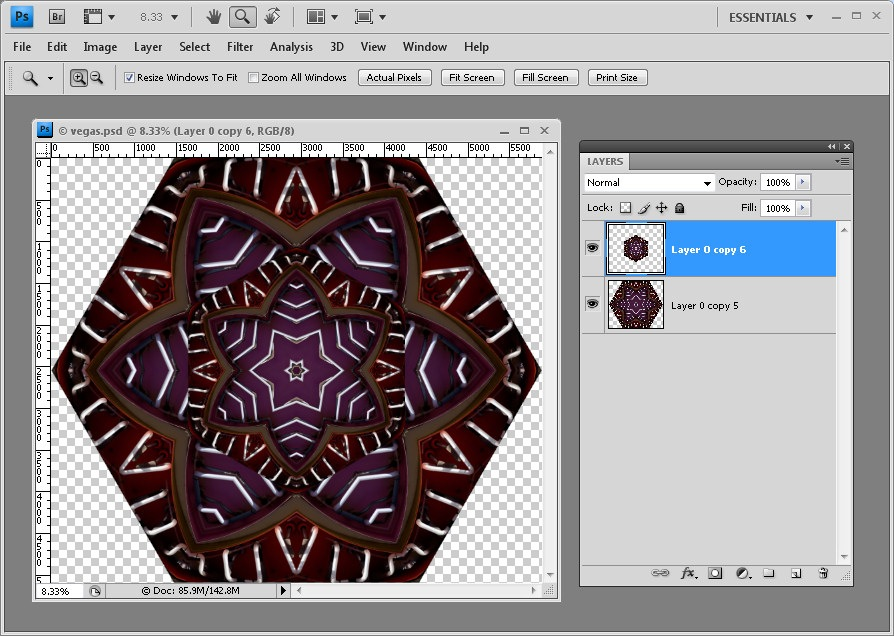 Kaleidoscope Plugin Photoshop