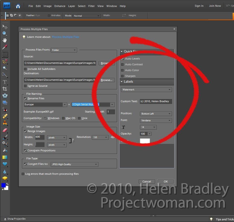 Batch Resising Photoshop Elements step6 jpgMy Digital Photography. Batch Resize Photoshop Cs4. Home Design Ideas