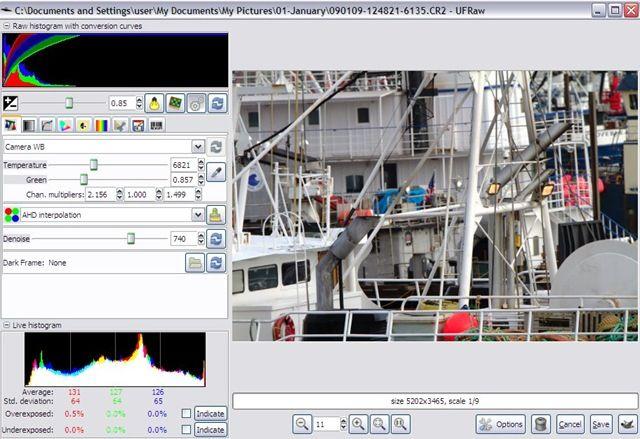 Ufraw инструкция - фото 5
