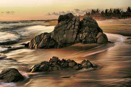 Evening Shore by Barbara Brown