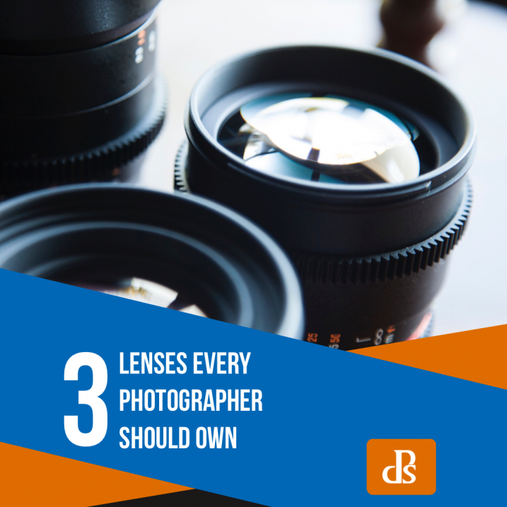 3 Lenses Every Photographer Should Own