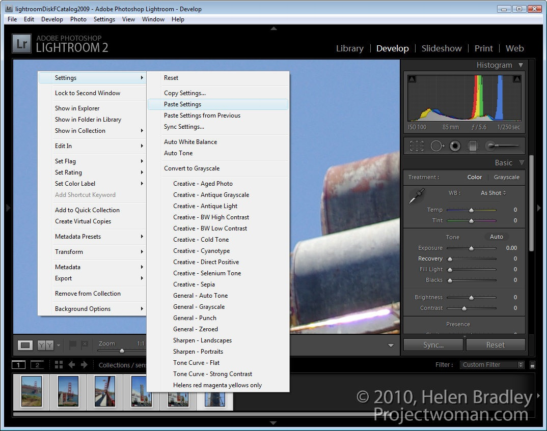 How To Add Watermark In Lightroom >> How to Remove Sensor Dust With Lightroom