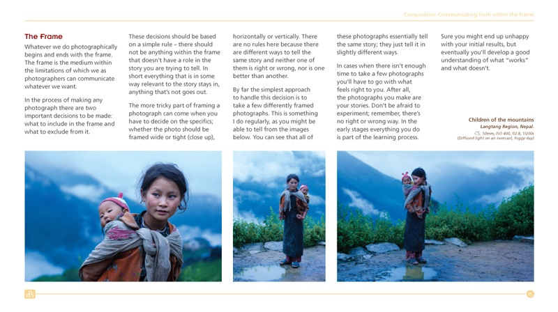 Travel Photography Guide Sample