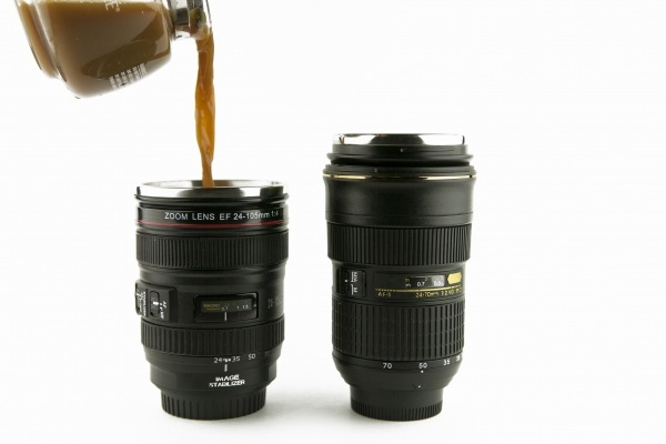 Camera Lens Mugs Nikon Or Canon - Nikon coffee cup lens