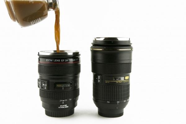 Camera Lens Mugs Nikon Or Canon - Nikon coffee cup lens