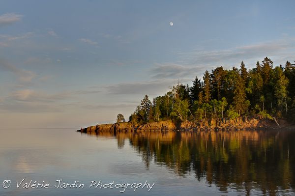 You don't have to travel far to sell your images locally. This typical Minnesota scenery shot last weekend while on a camping trip is more likely to sell locally than my images of France because it will appeal to a large audience..
