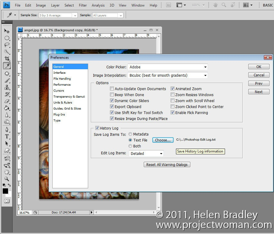 Sets of settings to save in photoshop 4
