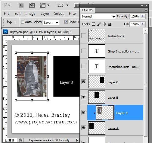 how to use templates in photoshop cc