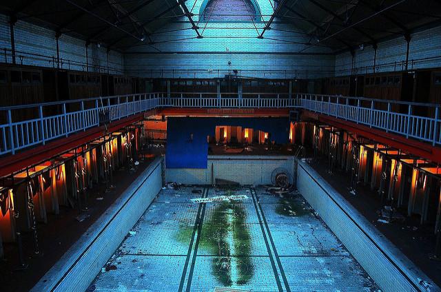 Abandoned Harpurhey Swimming Baths Manchester