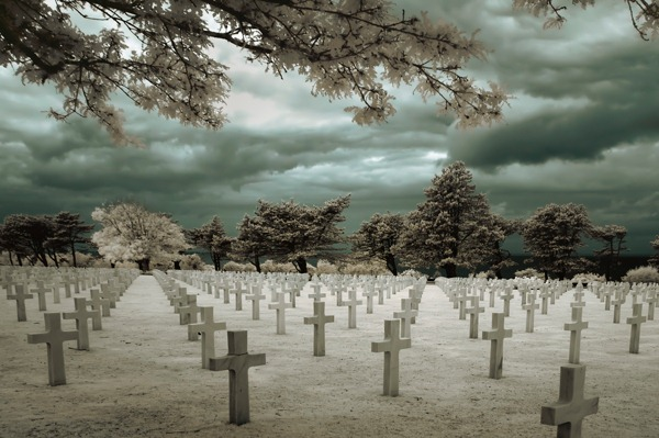 A Marcella - American Cemetery at Normandy France