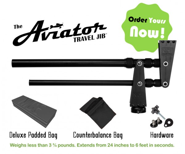 This is what you get with the Aviator travel Jib