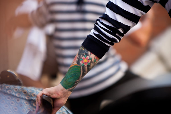 Tattooed Gondolier