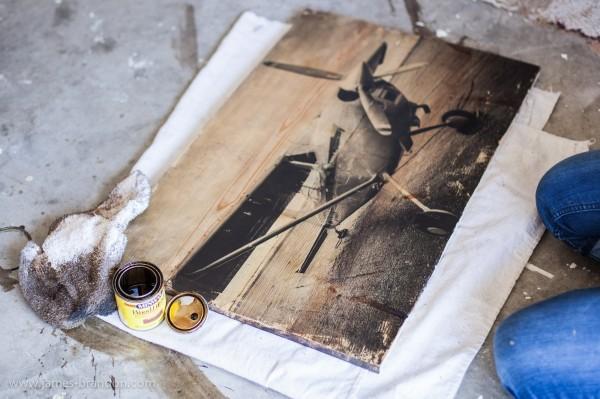 Como transferir fotos a telas o maderas taringa - Transferir foto a madera ...