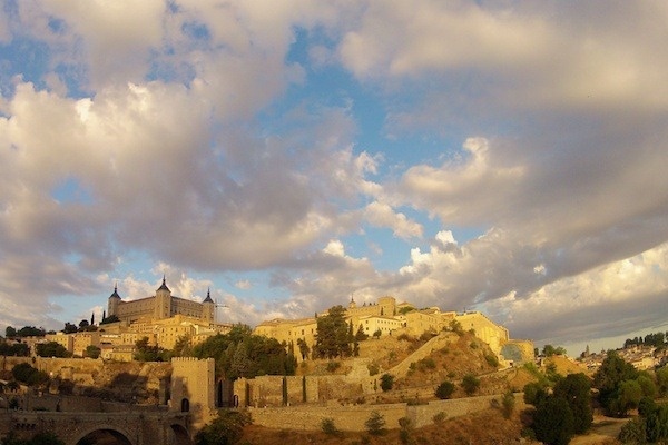 Toledo at Sunrise - Toledo, Spain - Copyright 2012 Ralph Velasco