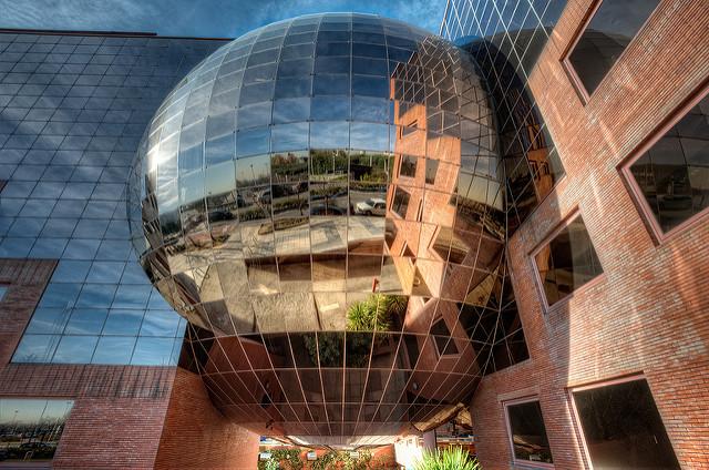 Twin Spheres – Esferas Gemelas, Campo de las Naciones, Madrid HDR