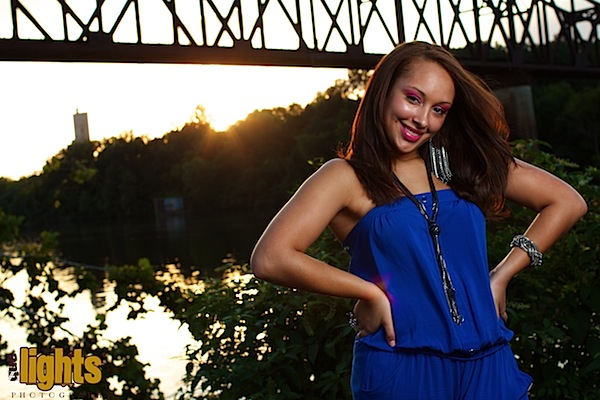 Shooting At Magic Hour With An Off Camera One Light Set Up