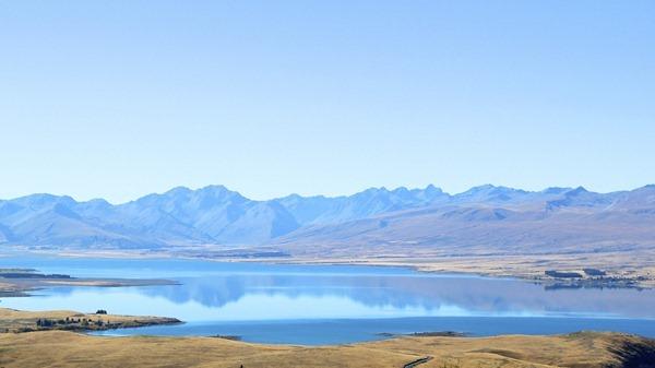 Pemandangan 360 derajat di Cekungan Mackenzie