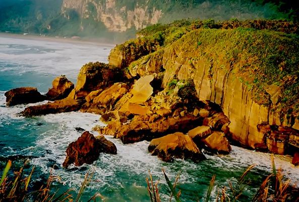 Greymouth NZ pantai