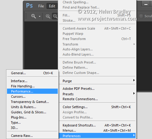 Photoshop setup opener