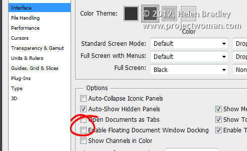 Photoshop setup preferences4