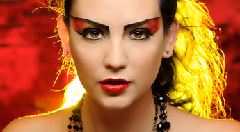 Fire Creative Make-up-293