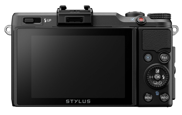 Olympus Stylus XZ 2 back