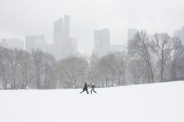 Couple in Sheep Meadow, Original Negative