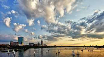 This shot was instantly deemed a keeper in my eyes, and edited immediately.  I loved the effect the 14mm lens had on the clouds, and the interest added by the sailboats in the foreground. I had deemed the other shot, Boston Skyline, a bit too blah at the time of the initial edit.  Three years later, I edited it, and within a few months has become one my best selling images.
