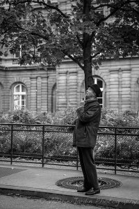 Street photography is about gesture and expression.