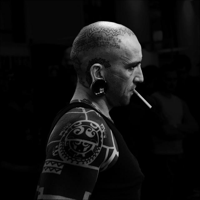 the tatoo man