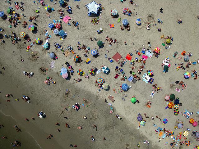 Umbrella Convention - Kite Over Avalon, NJ USA