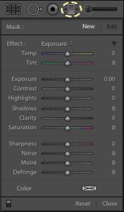 Graduated Filter Controls
