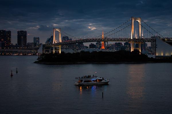 Tokyo from Odaiba Island