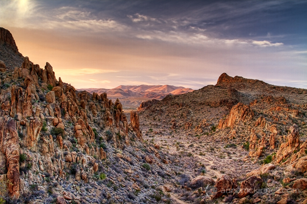 Grapevine Hills, Big Bend National Park, Texas.