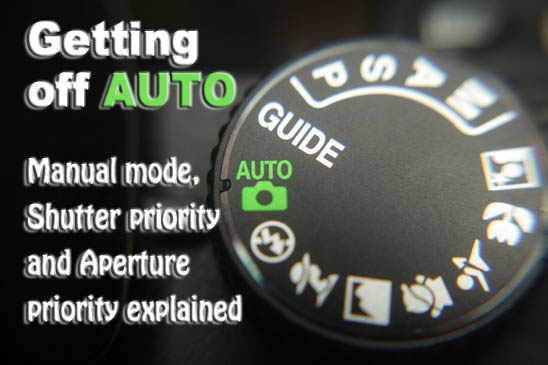 Getting Off Auto Manual Aperture And Shutter Priority