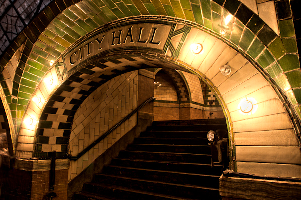 The Old City Hall Subway Stop Tour
